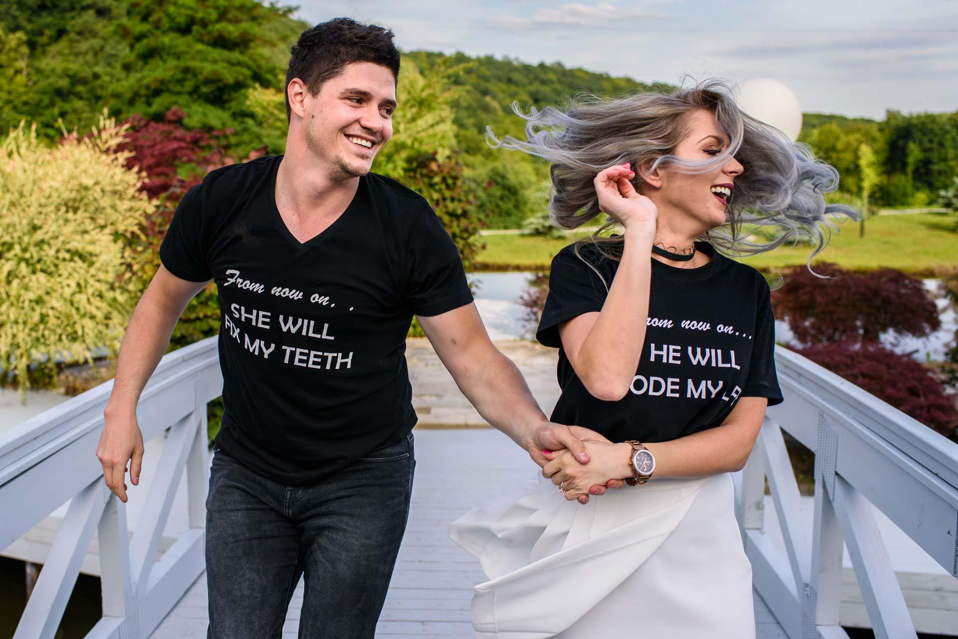 Foto inainte de nunta – Rares si Oana